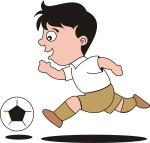 2 เด็กชายวิ่งกากี