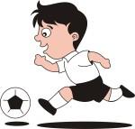 2 เด็กชายวิ่งเกงดำ